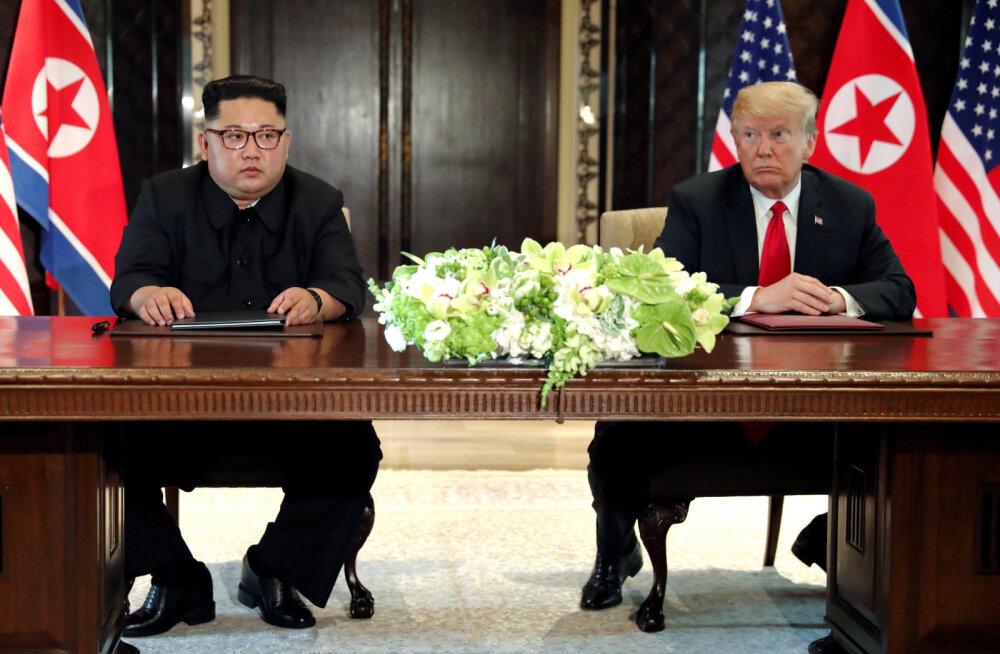 DOKUMENTIDE VÕRDLUS | 25 aastat USA ja Põhja-Korea ühiseid deklaratsioone. Mille poolest praegune eelmistest erineb?