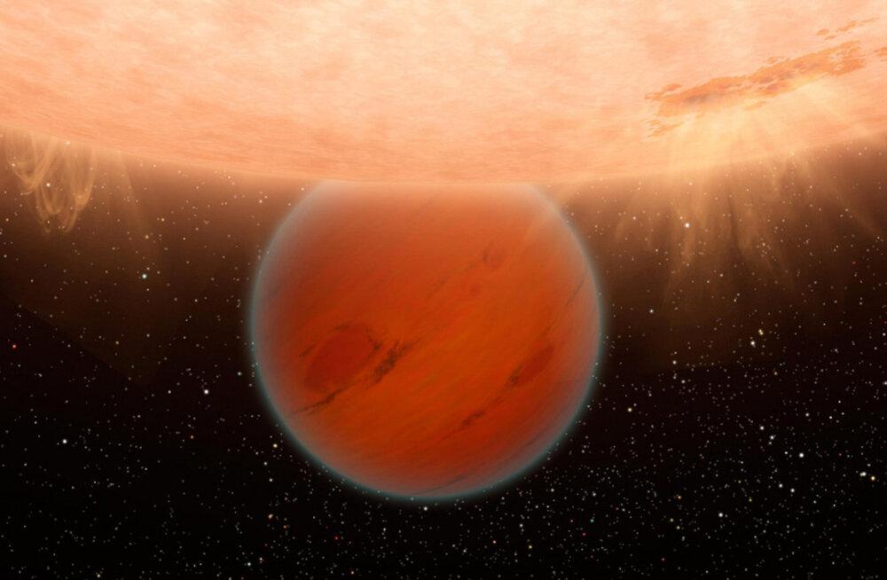 """438 valgusaasta kaugusel """"kuumal neptuunil"""" on algeline atmosfäär"""
