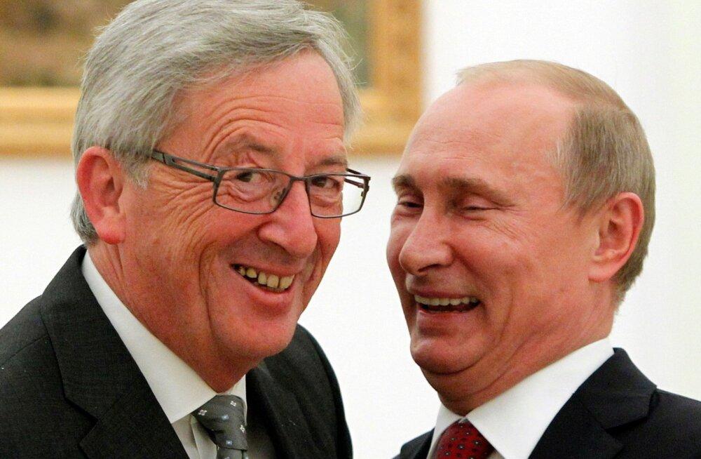 Vladimir Putin, Jean-Claude Juncker