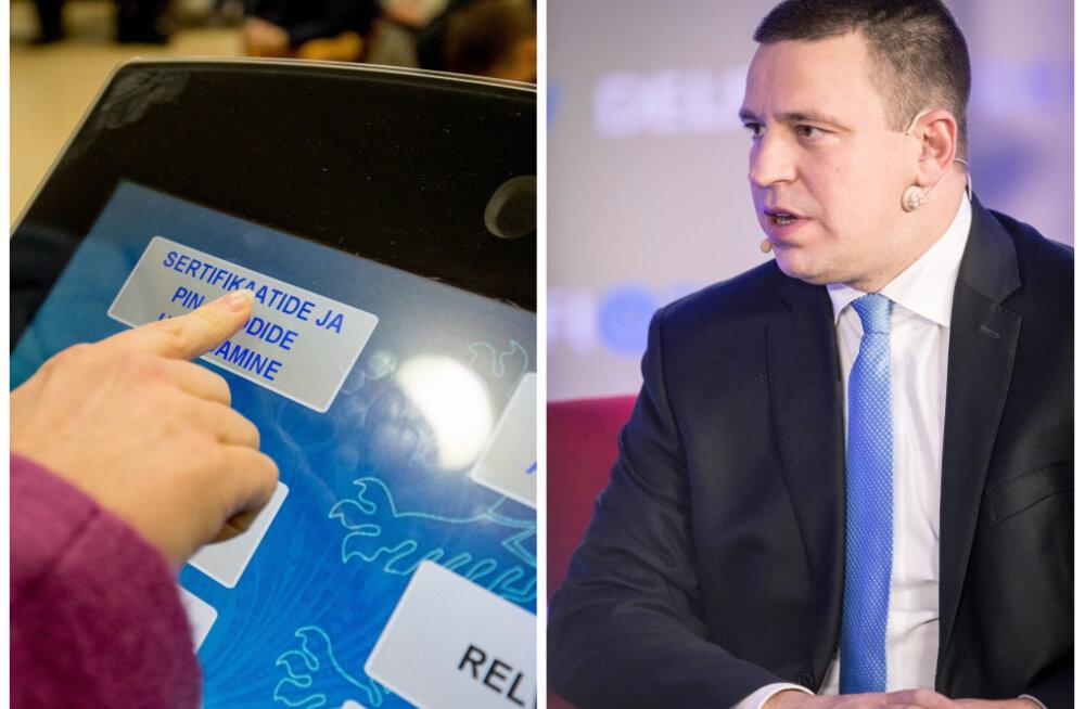 Jüri Ratas ID-kaartidega seotud probleemidest: paanikaks pole põhjust!