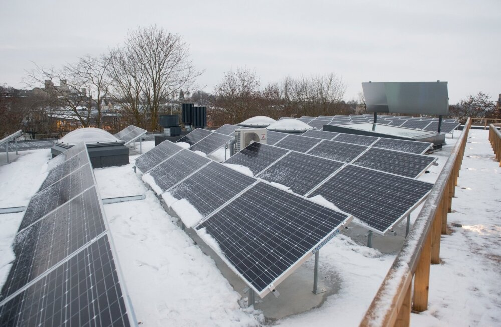 Концерн Eesti Energia занялся солнечной электроэнергией