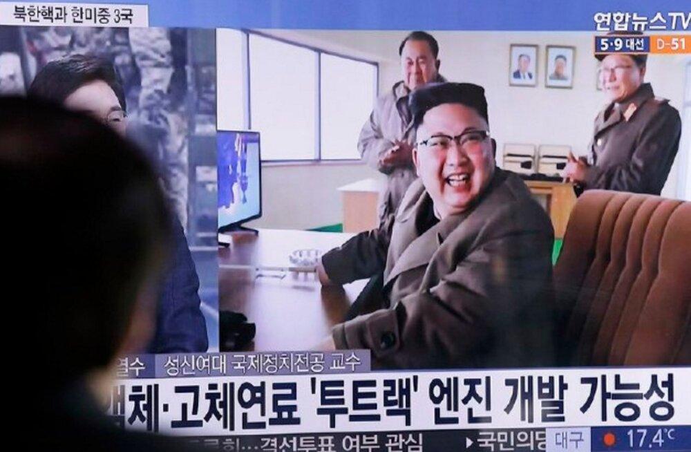 Trump: Kim Jong-un käitub väga-väga halvasti