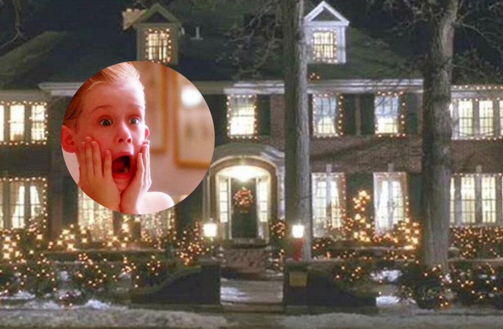 """Pole odav lõbu! """"Üksinda kodus"""" filmist tuntud McAllisteride häärberil on krõbe hind"""