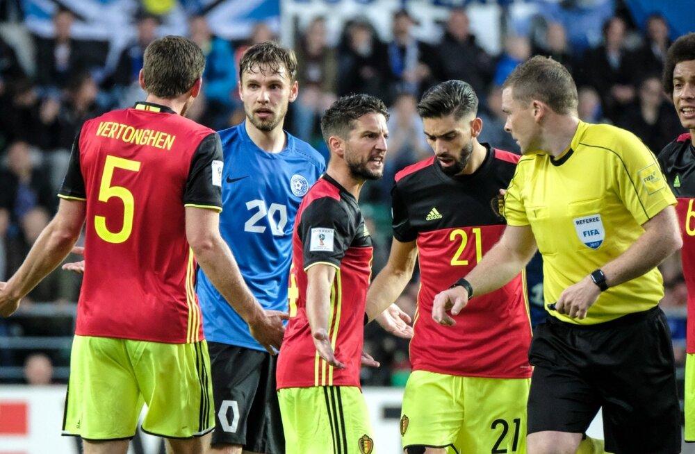 Eesti vs Belgia 09.06.2017
