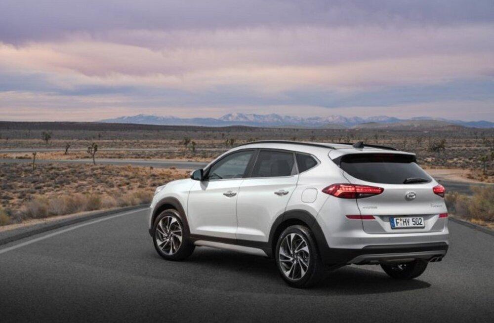 PROOVISÕIT | Väljapeetud Hyundai Tucson