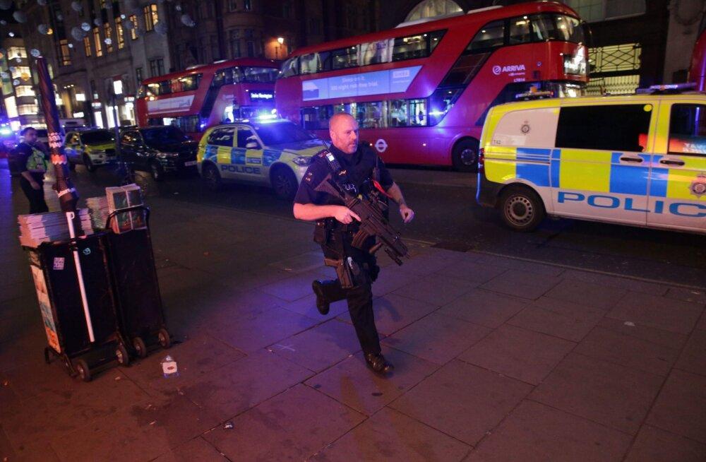 Londoni kesklinnas puhkes terrorihirm, inimesi kutsuti varjuma