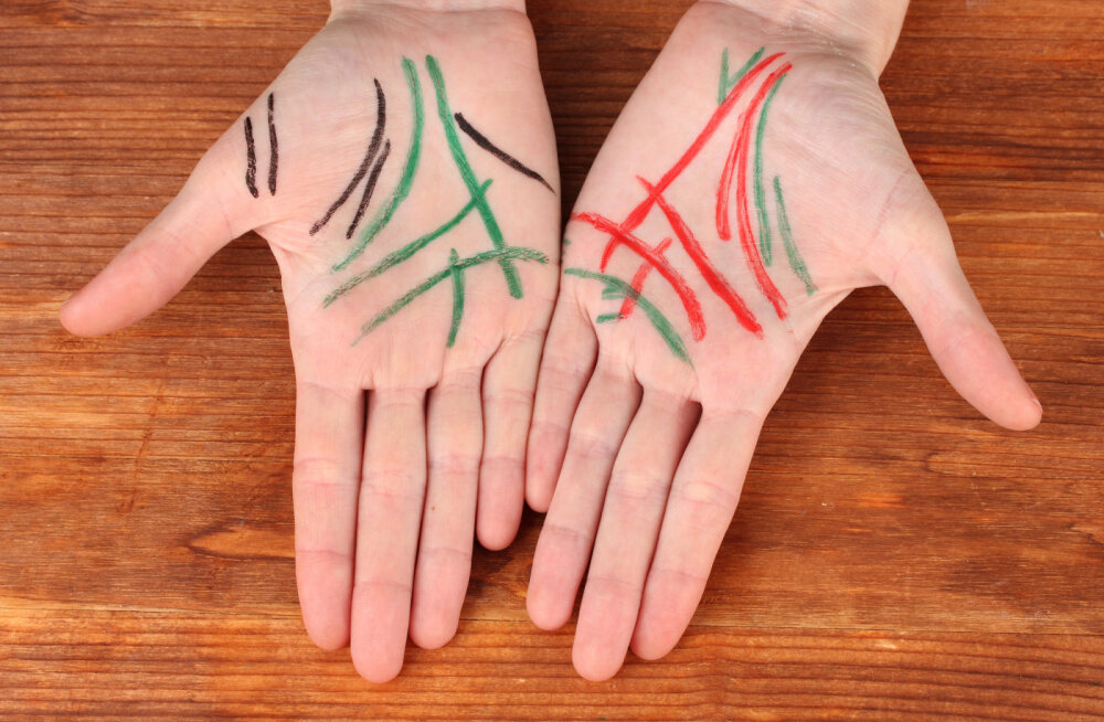 Mudi end terveks! Vaata järele, milliseid organeid tähistavad erinevad sõrmed
