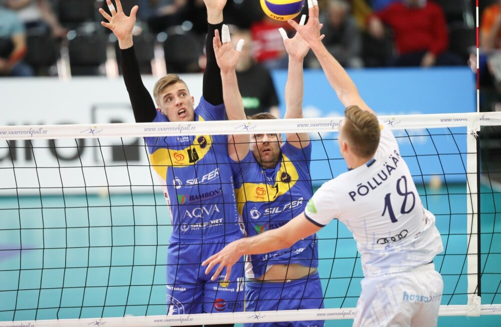 Võrkpalli Balti liiga poolfinaal Saaremaa ja Rakvere
