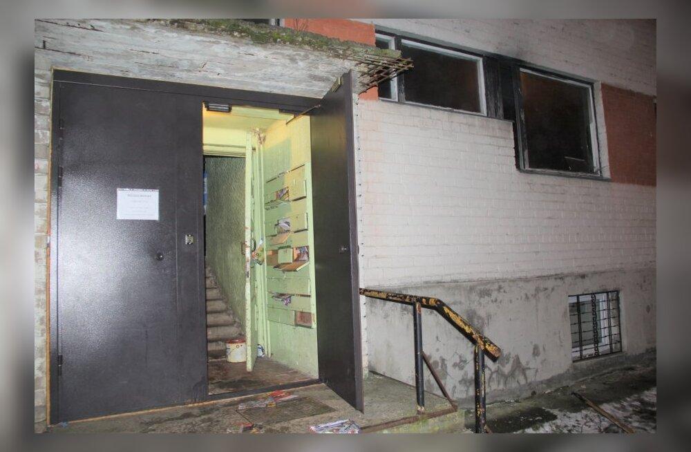 В Кивиыли в сгоревшей квартире нашли два трупа. Подозреваемый задержан