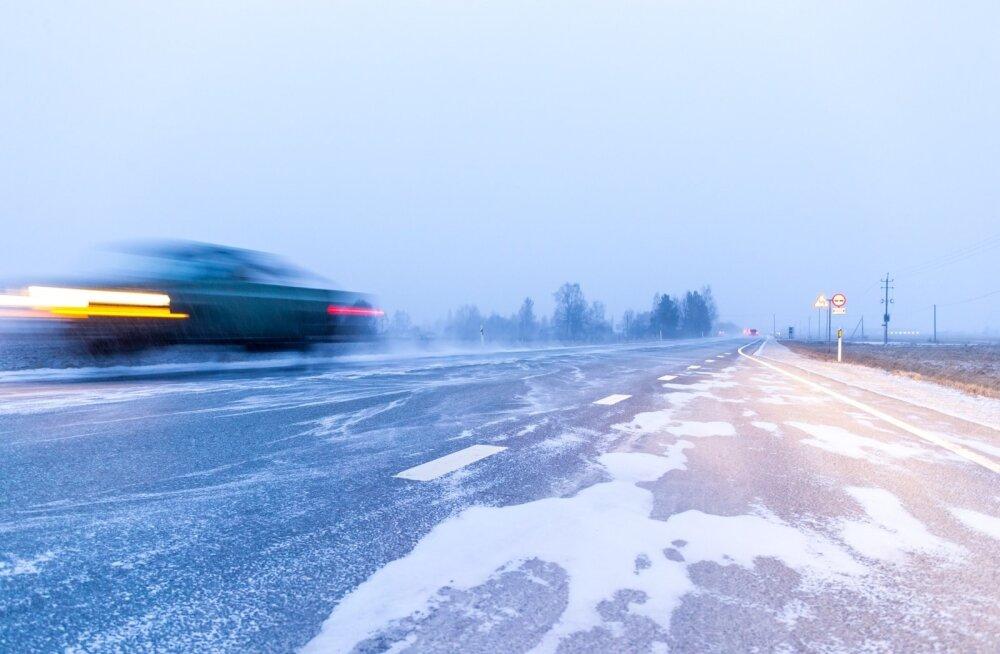 Liikluspiirangud on täna kolmes maakonnas
