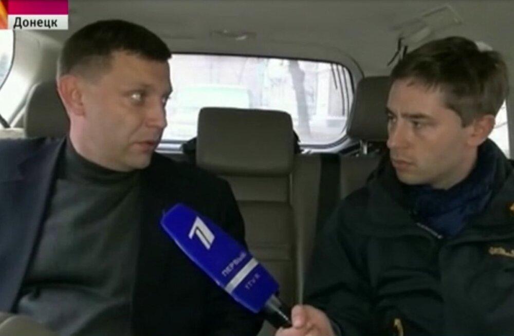 2014. aasta sügisel intervjueeris Timur Sirazjev Donetski nn rahvavabariigis selle juhti Aleksandr Zahhartšenkot.