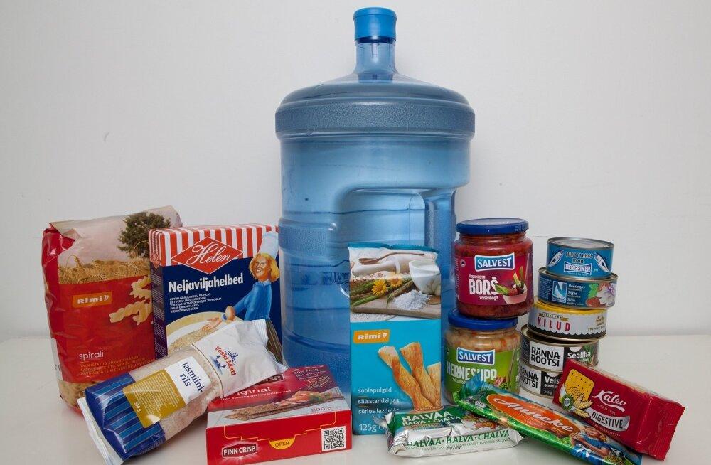 Tarvilikud toiduained sõja ohu puhuks
