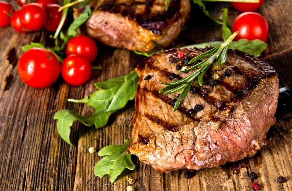 Et täisväärtuslikust lihatükist kogu raua ramm kätte saada, tuleks liha süüa pigem õrnalt küpsetatuna.