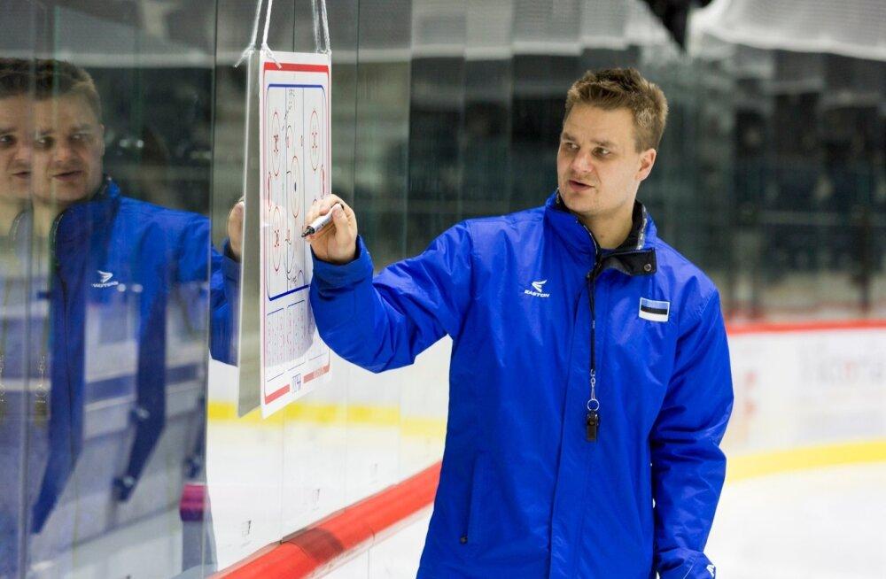 Eesti Jäähokikoondise pressikonverents ja treening