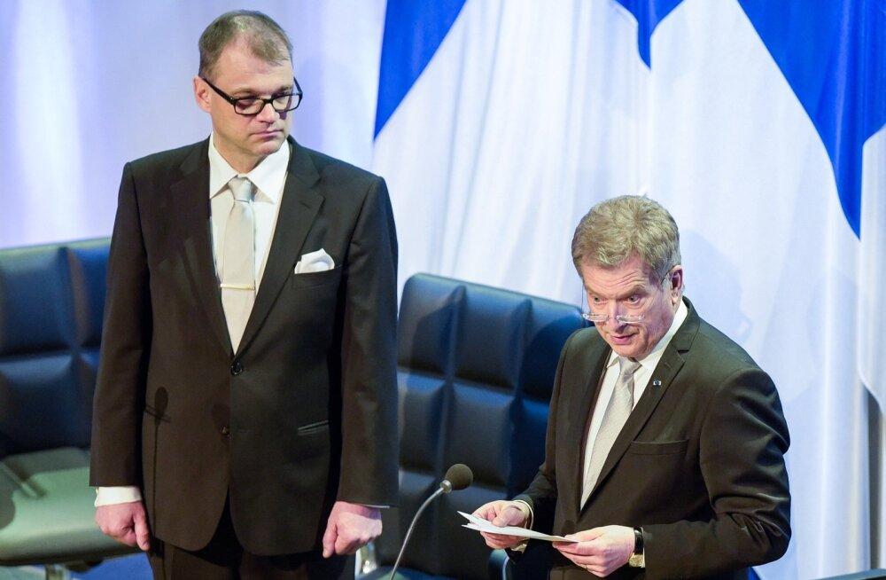 Soome päeva üritustele Tallinna tuleb nii president Niinistö kui ka peaminister Sipilä