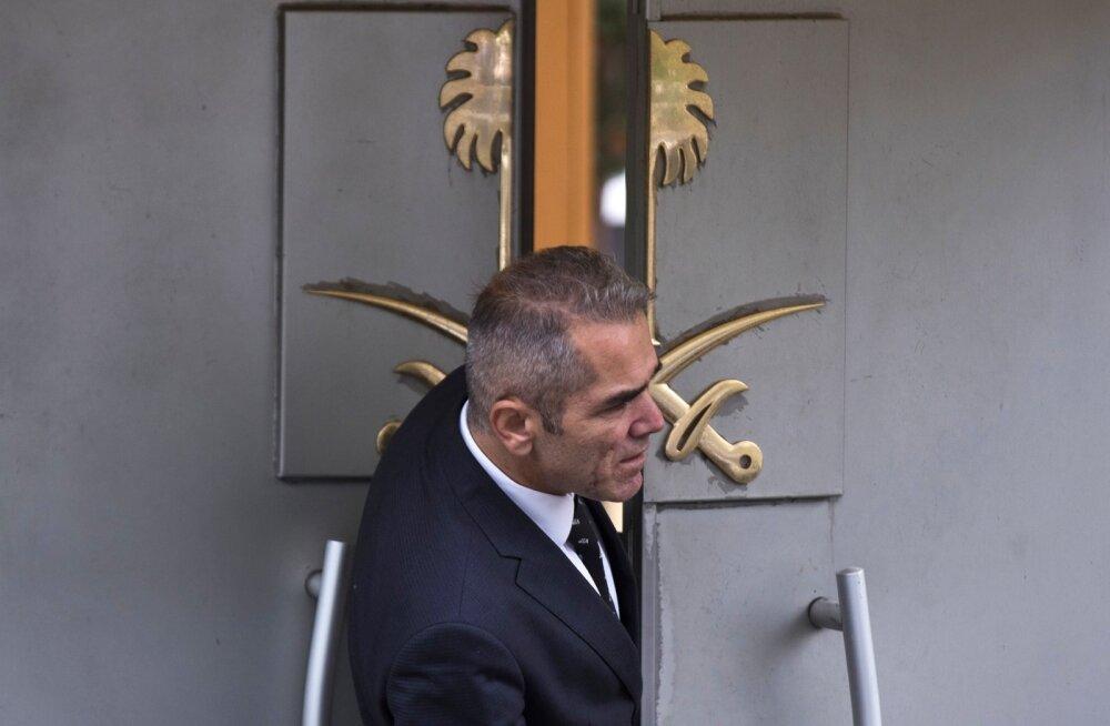 Washington Post: audio- ja videosalvestused tõestavad kadunud ajakirjanik Khashoggi mõrvamist Saudi Araabia konsulaadis Istanbulis