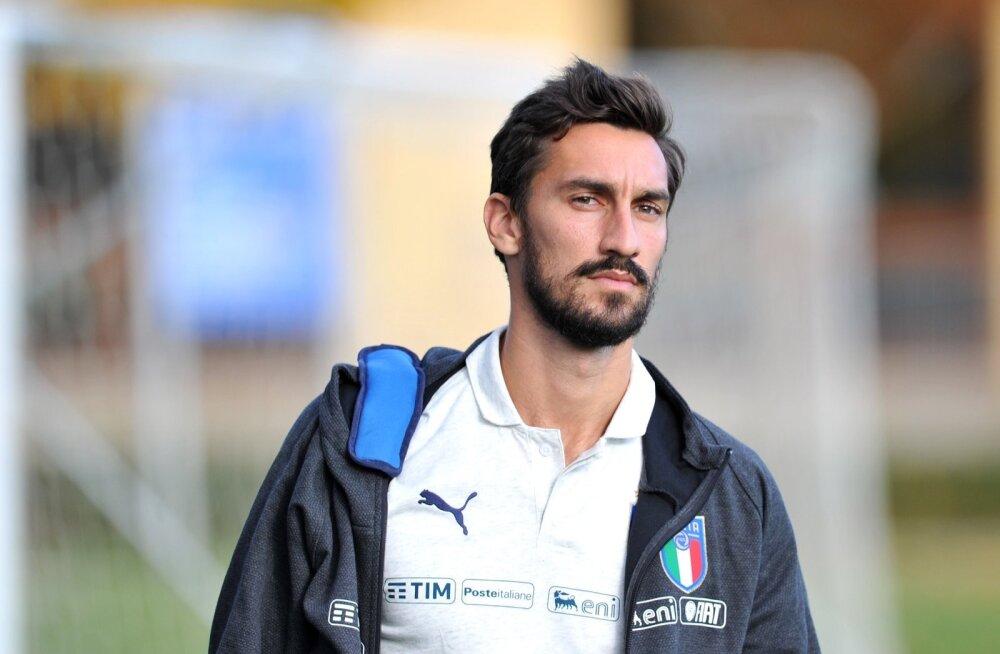Allenamento della Nazionale di calcio italiana a Coverciano