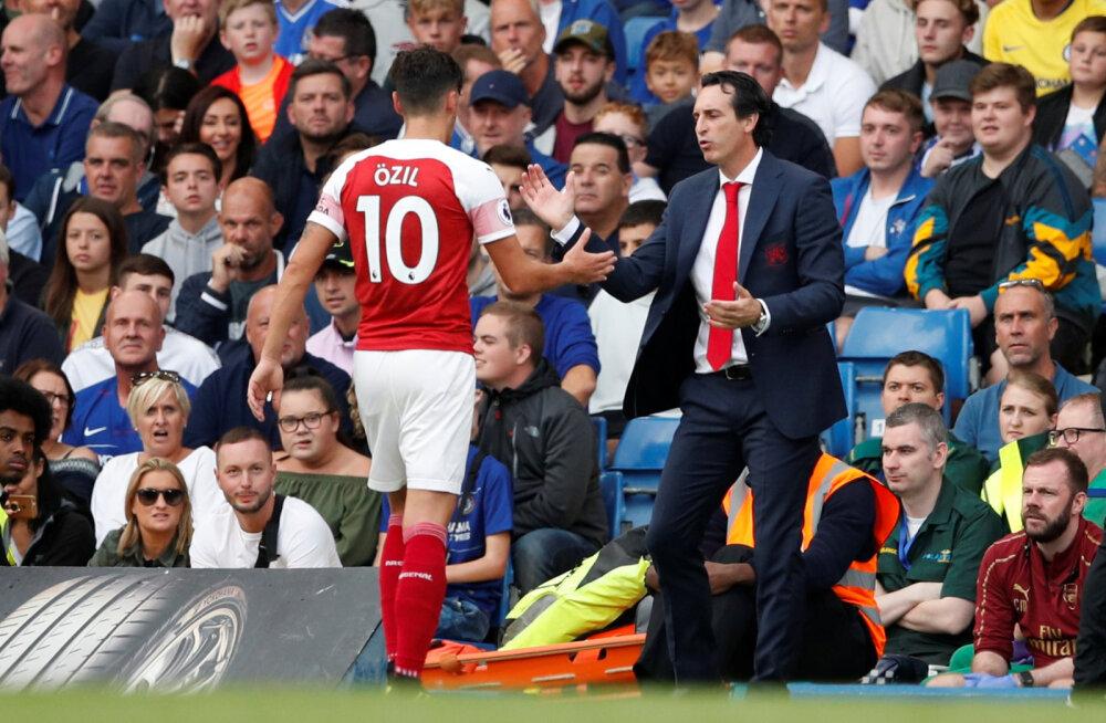 Arsenali uus loots Emery keelas mängijatel mahlajoomise
