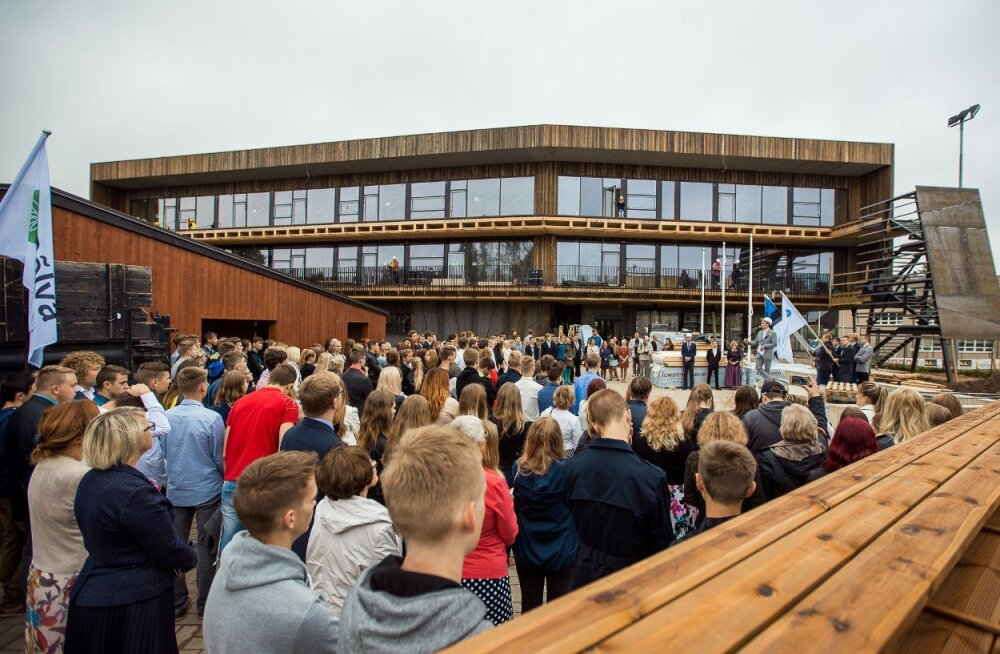 Täna avatakse Põlva Gümnaasiumi uus hoone