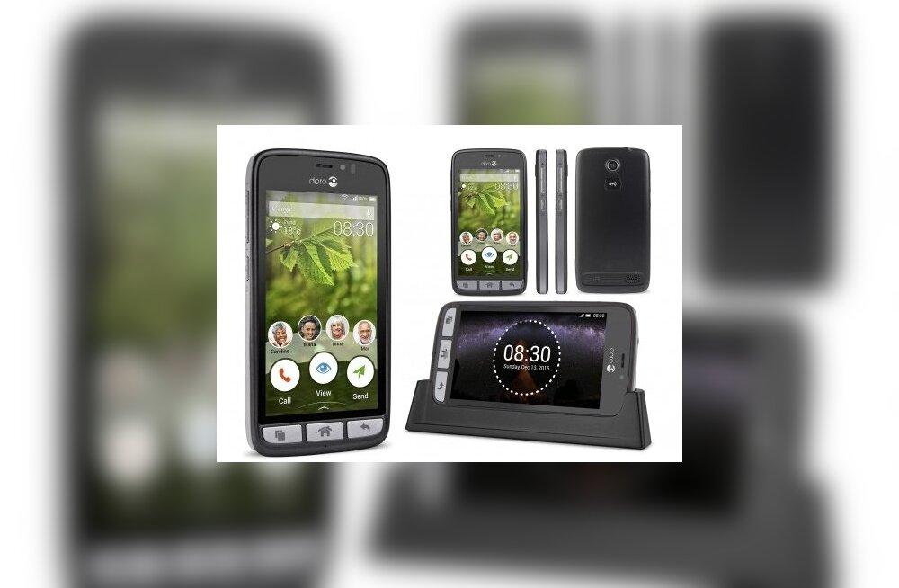 TEST: Seenioritelefon Doro 8030 tähendab suuri ümmargusi ikoone