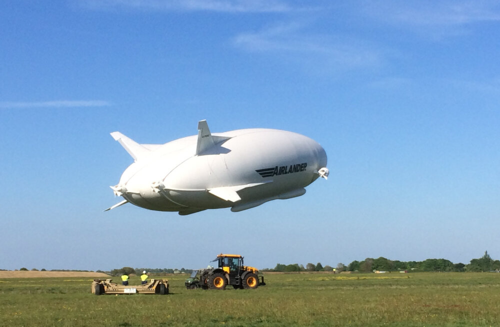 Tagasi taevas: maailma suurim õhulaev sooritas edukalt kolmanda lennu