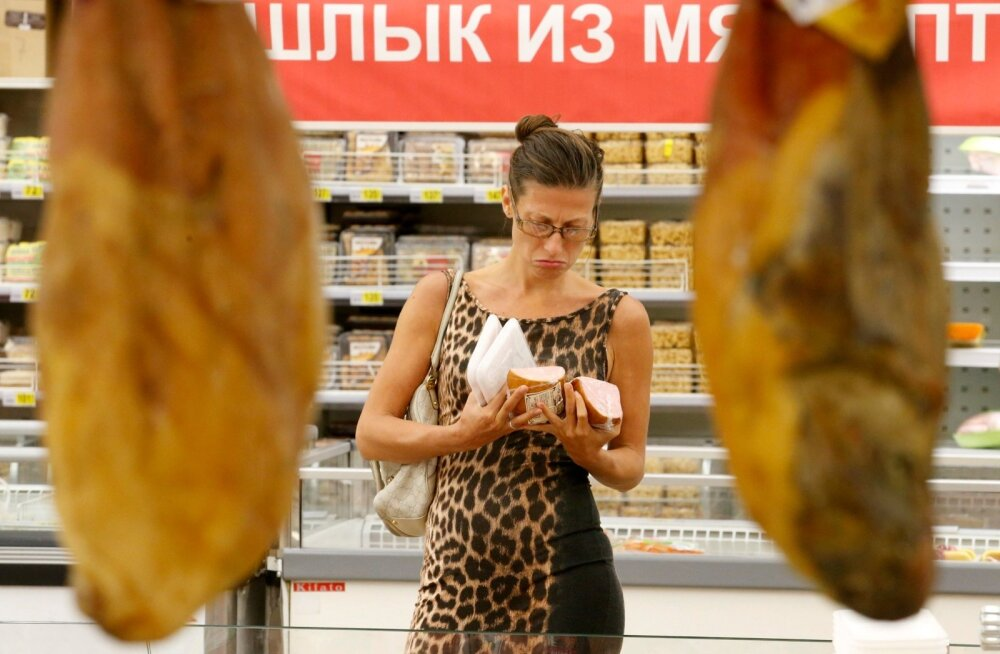 Venemaa ELi-vastaste sanktsioonide mõju on kõige suurem kohalikule toiduainevalikule.