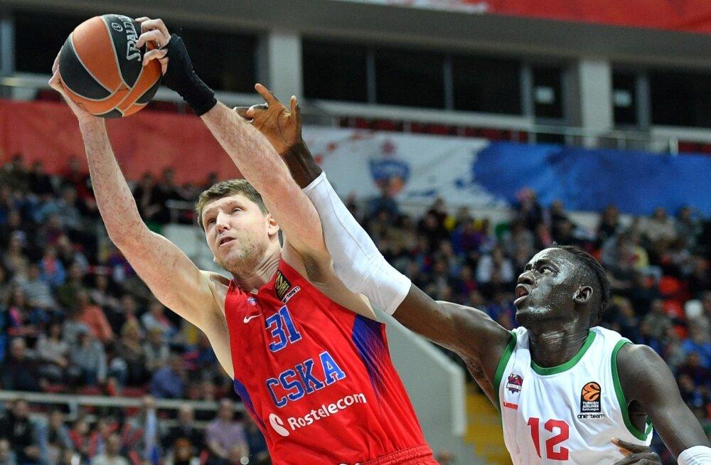 Moskva CSKA mäng sõltub suuresti Viktor Hrjapast.
