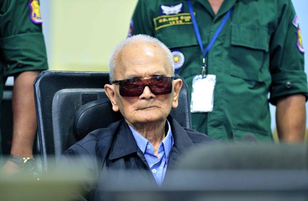 Punaste khmeeride juhid mõisteti süüdi Kambodža genotsiidis
