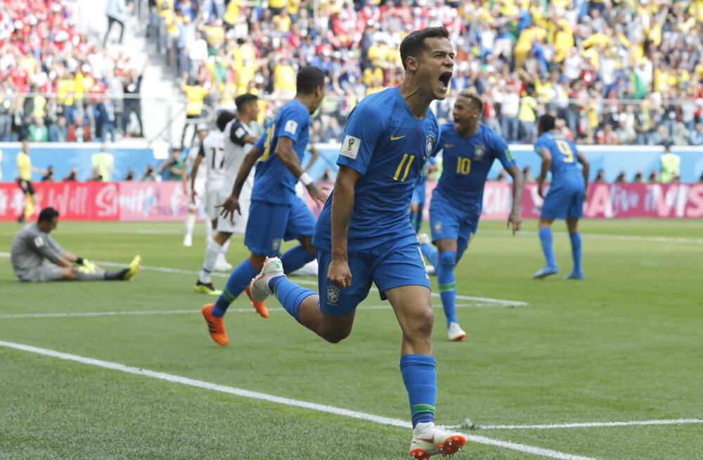 Philippe Coutinho juubeldab