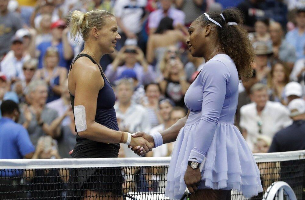 Kaia Kanepi - Serena Williams US Openil