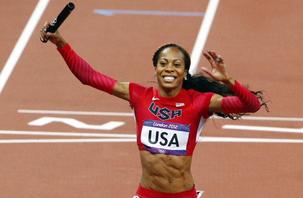 Neljakordne olümpiakuld Sanya Richards-Ross