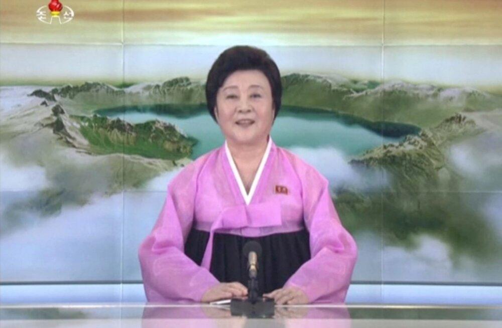 Põhja-Korea teatel on uue raketi löögiulatuses kogu USA mandriosa