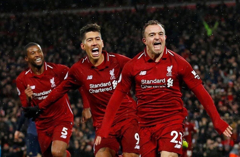 Pühadele läheb tabeliliidrina vastu FC Liverpool.