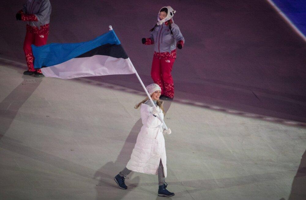 Eestlased Pyeongchang 2018 avatseremoonial