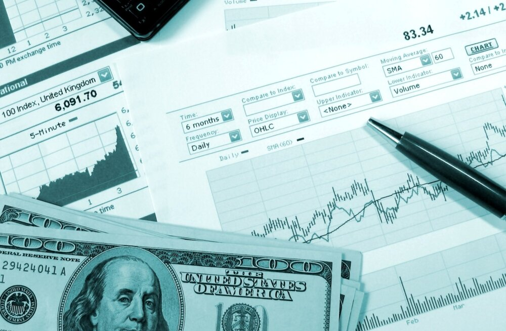Dollarid ja graafikud