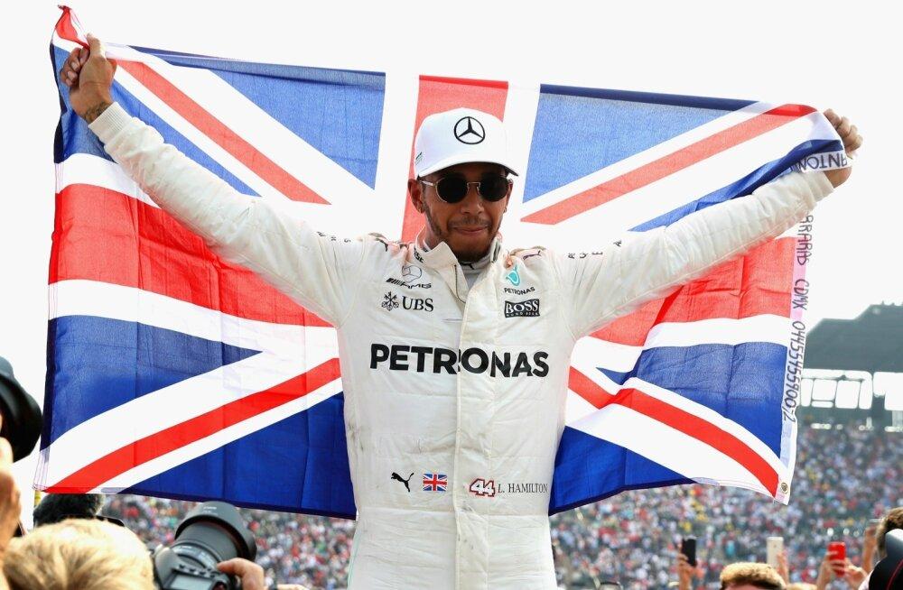Lewis Hamilton, neljakordne maailmameister