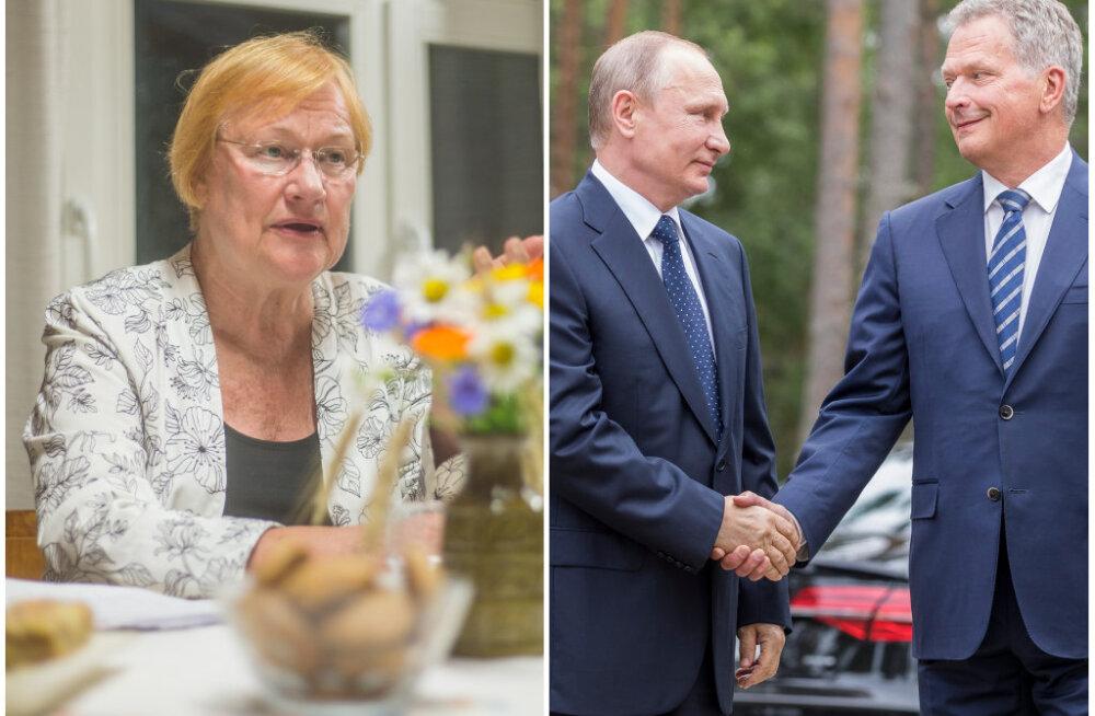 Tarja Halonen kiidab Venemaa ja Soome sõprust: teised riigid võiks eeskuju võtta