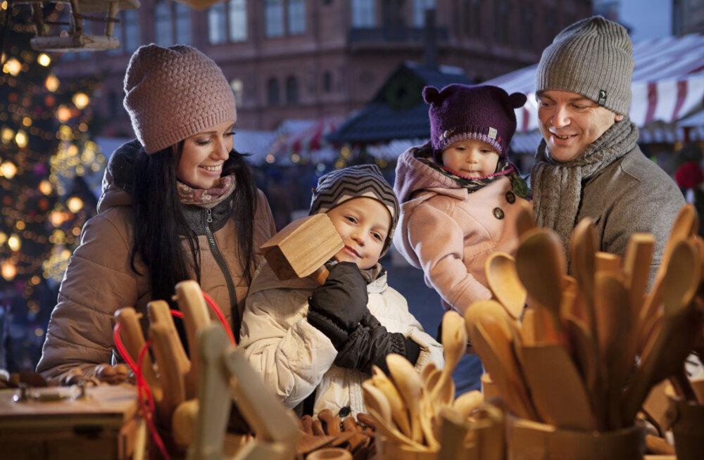 Jõulu- ja uusaastaüritused Riias