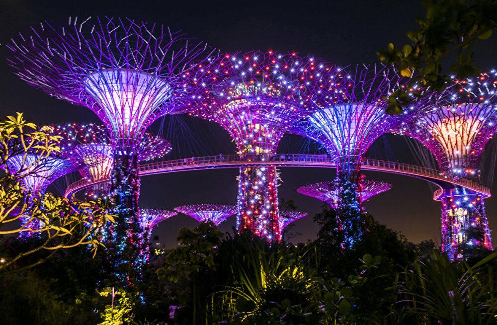 В Сингапур — город-сад на парад!