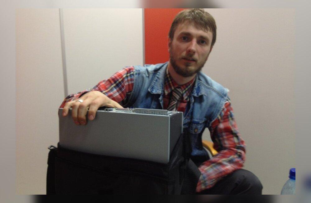 Meelis Kaldalu valimiskomisjonist varastatud arvutiga