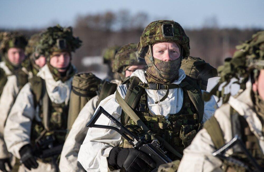 Liitlaste ja Scoutspataljoni jalgsirännaku algus Kirde-Eestis