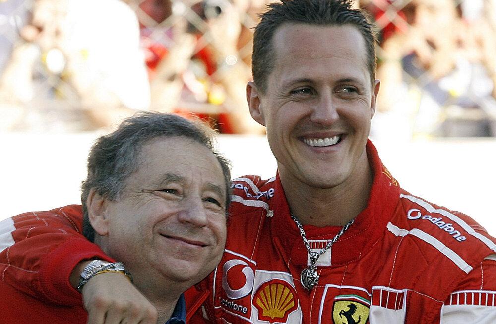 Jean Todt ja Michael Schumacher