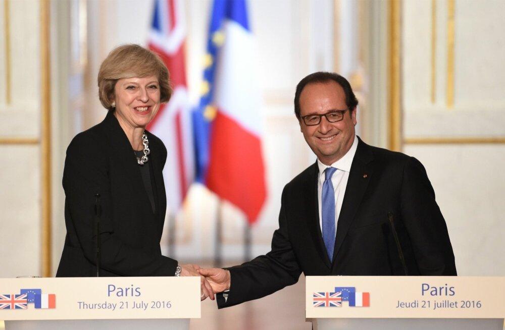 Theresa May tahab EL-ist lahkumise kaheaastase perioodi käivitada hiljemalt märtsis. See on nagu tundmatus kohas pea ees vette hüppamine, sest siis pole veel teada, kellest saab järgmine Prantsusmaa riigipea või Saksamaa kantsler. Neist sõltub kõneluste e