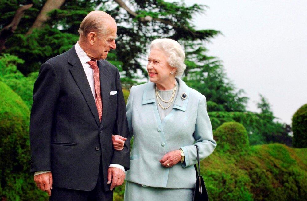 Kuninganna Elizabeth II ja prints Philip