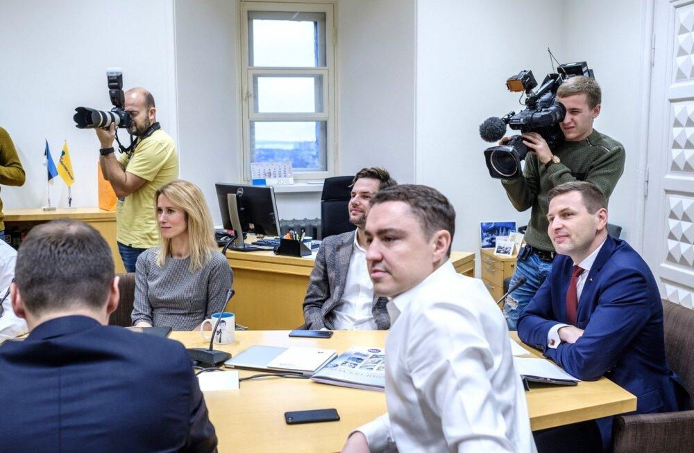 Reformierakonna juhatus otsustas, et üldkogu erakorraline istung korraldatakse aprillis.