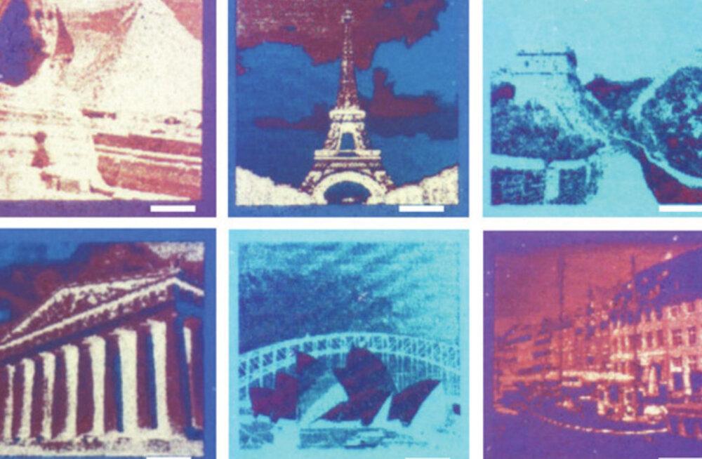 Liblikatest inspireeritud printer loob värvifotosid tindita, vaid pinnamolekule mõjutades
