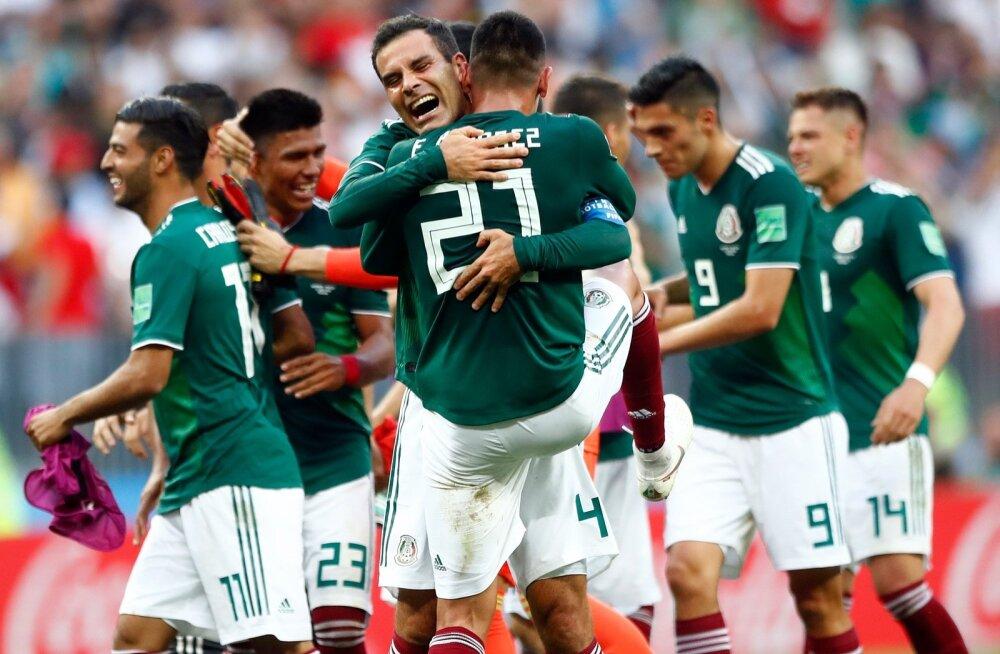 Mehhiko võidumängust sai osa ka legendaarne Rafael Márquez (nr 4), kes võttis 39-aastasena osa oma viiendast MM-ist.