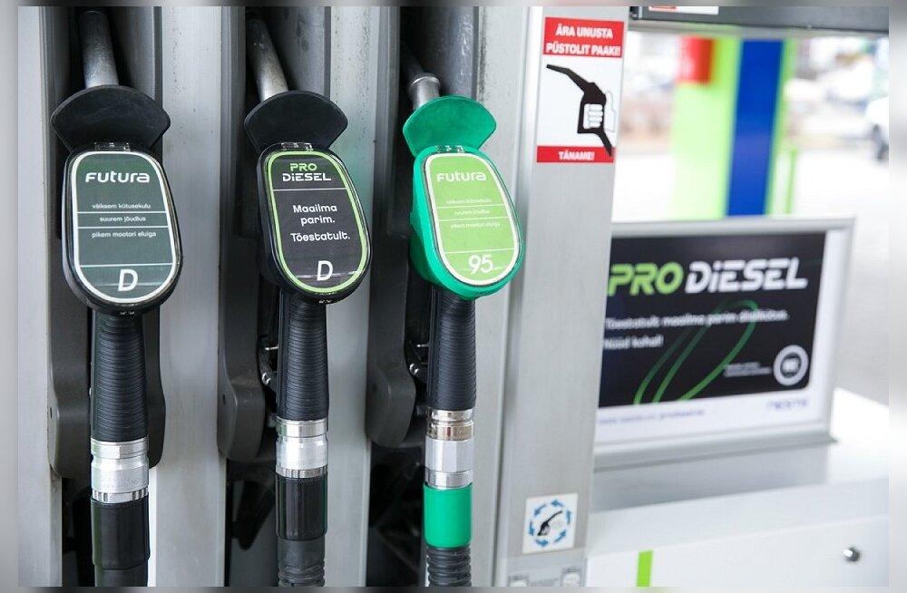 На эстонском рынке появилось дизельное топливо с возобновляемым компонентом Pro Diesel