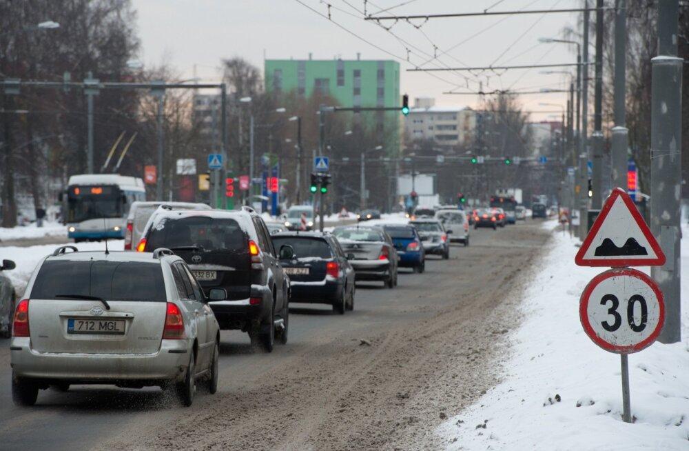 Nõmmel on liikluskorralduses mitmed muudatused