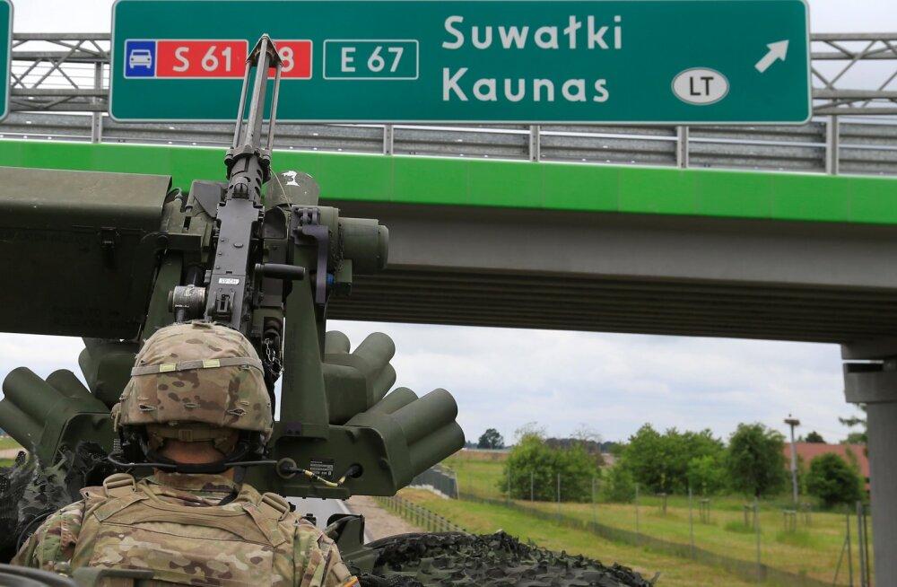 Poolas käib USA uute lahingumasinate agressiivne testimine, et Venemaale vastu saada